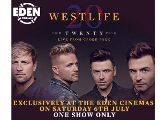 Westlife at Eden Cinemas Malta What's On Malta, Malta Events