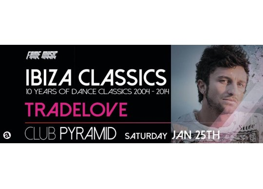 Ibiza classics at club pyramid malta what 39 s on malta for Ibiza house classics