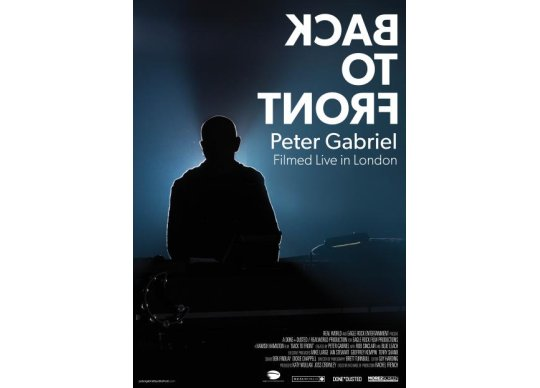 Peter Gabriel Back To Front At St James Cavalier Malta