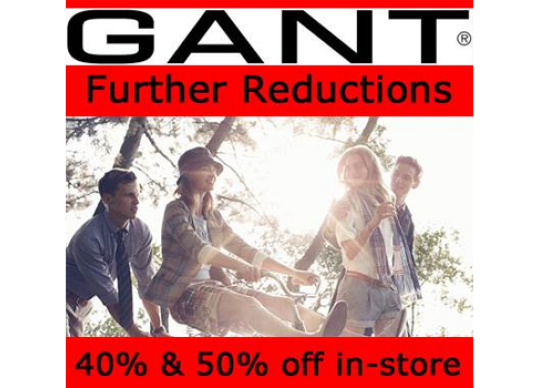 entire collection pick up best sale Gant Summer Sale at The Point Shopping Mall Malta What's On ...