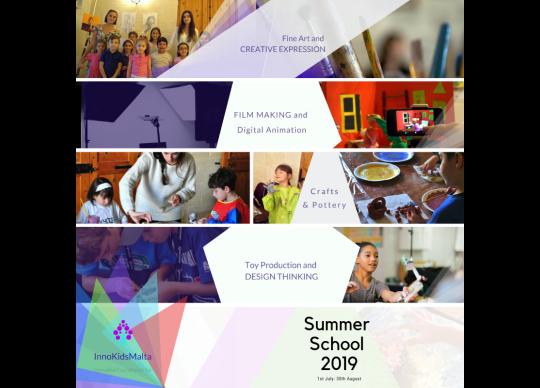 InnovativeKids Summer School 2019 by Art Classes Malta at Art
