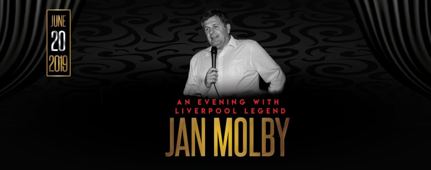 AN EVENING WITH LIVERPOOL LEGEND JAN MOLBY in Malta, Theatre Malta, 20.06.2019 - 20.06.2019