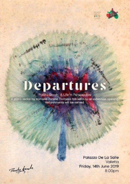 Departures: Pawlu Grech, a life in perspective in Malta, Music Malta, 14.06.2019 - 14.06.2019