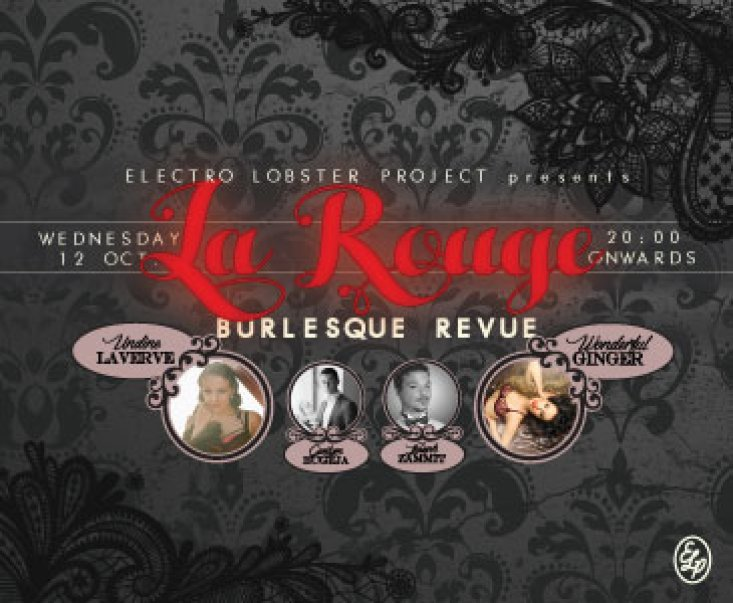 La Rouge Burlesque Revue in Malta, Special Events Malta, 12.10.2016 - 12.10.2016