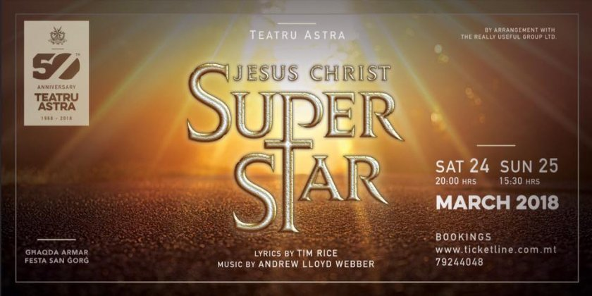 Jesus Christ Superstar in Malta, Theatre Malta, 24.03.2018 - 25.03.2018