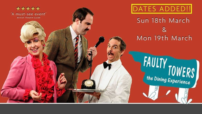 Faulty Towers The Dining Experience in Malta, Theatre Malta, 16.03.2018 - 19.03.2018