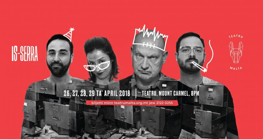 Is-Serra Ta' Harold Pinter in Malta, Theatre Malta, 26.04.2018 - 29.04.2018