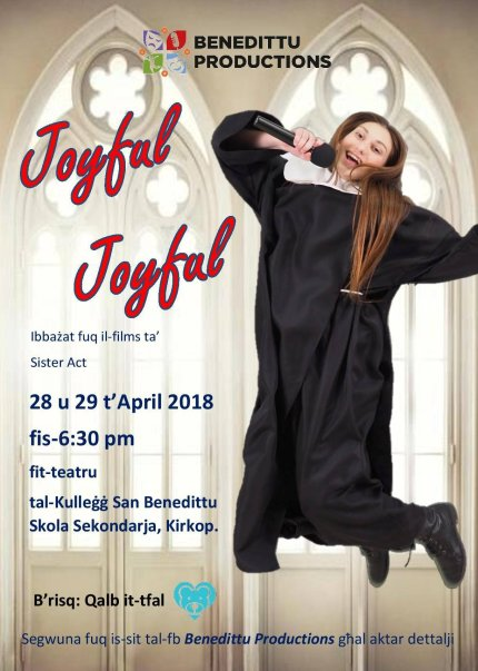 Joyful Joyful in Malta, Music Malta, 28.04.2018 - 29.04.2018