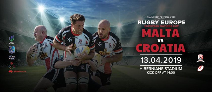 Malta Vs Croatia: Rugby Europe Championship in Malta, Sports Malta, 13.04.2019 - 13.04.2019