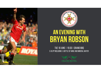 An evening with Bryan Robson in Malta, What's On Malta