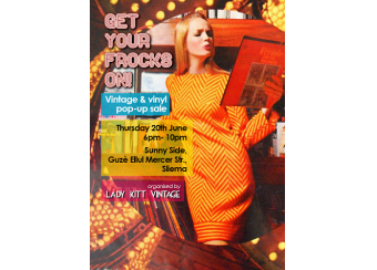 Get Your Frocks On! Vintage & Vinyl Pop-Up Sale in Malta, What's On Malta