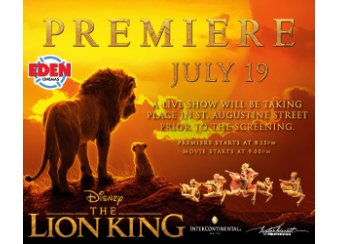 The Lion King | The Premiere in Malta, What's On Malta
