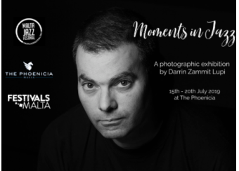 Moments in Jazz - A Photographic Exhibition  in Malta, What's On Malta