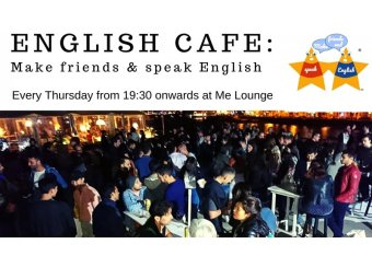English Cafe: Make friends & speak English in Malta, What's On Malta