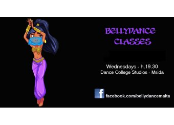 Bellydance Classes in Malta, What's On Malta
