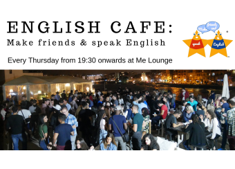 English Cafe: Make friends & speak English ® TM in Malta, What's On Malta