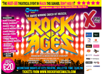 Rock Of Ages: The Musical - Malta in Malta, What's On Malta