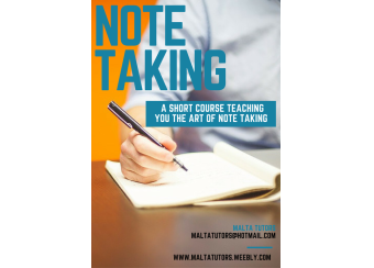 Note Taking Course in Malta, What's On Malta