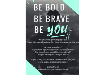 Be Bold, Be Brave, Be YOU in Malta, What's On Malta