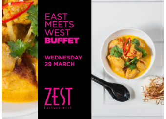 Zest March East Meets West Buffet in Malta, What's On Malta