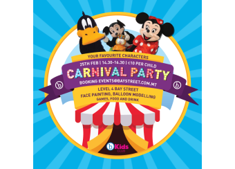 Kids Carnival Party in Malta, What's On Malta