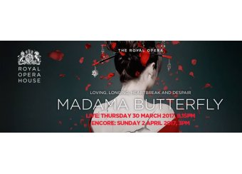 Madama Butterfly Live from The Royal Opera House in Malta, What's On Malta