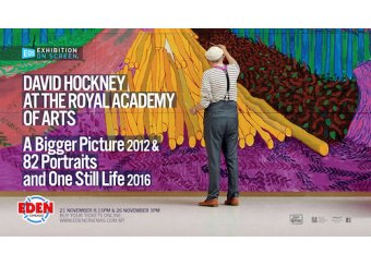 David Hockney at the Royal Academy of Arts in Malta, What's On Malta