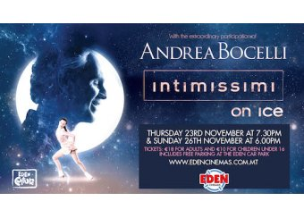 Intimissimi on Ice with Andrea Bocelli in Malta, What's On Malta