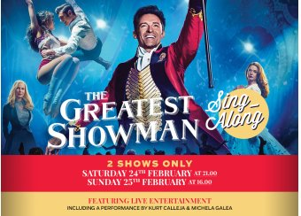 The Greatest Showman Sing-Along in Malta, What's On Malta