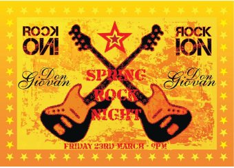 Spring Rock Night in Malta, What's On Malta