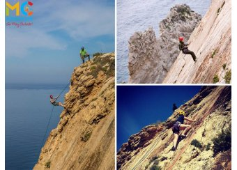 Try abseiling and rock climbing for the first time! in Malta, What's On Malta